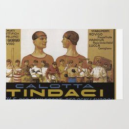 Vintage poster - Calotta Tindaci Rug