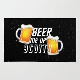 Beer Me Up Scotty Rug