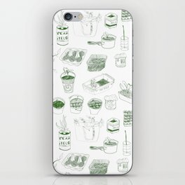 Cover, CONTAIN, Compost - 2 of 3 iPhone Skin