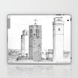 San Gimignano Laptop & iPad Skin