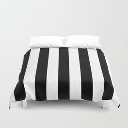 Stripes Black And White Duvet Cover