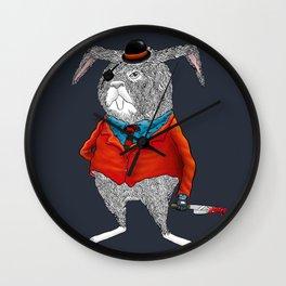 Rabbit Mafia Wall Clock