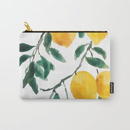 yellow lemon 2018 Carry-All Pouch
