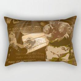 The Champ: Ali Rectangular Pillow