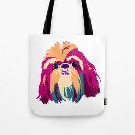 Shih Tzu Face Tote Bag