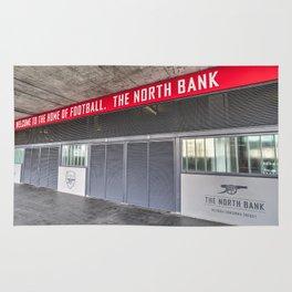 Arsenal FC Emirates Stadium London North Bank Rug