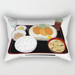 Japanese Tonkatsu Bento Rectangular Pillow