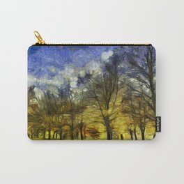 Greenwich Park London Van Gogh Carry-All Pouch