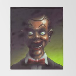 Night of the Living Dummy Throw Blanket