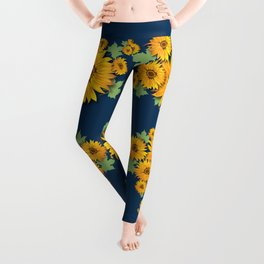 Summer Sunflower Leggings