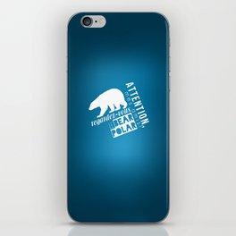 Le Bear Polar iPhone Skin