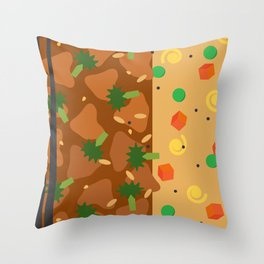 Chinese Food Throw Pillow