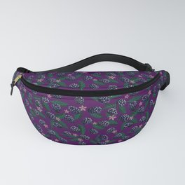Blackberries and Blossoms Fanny Pack