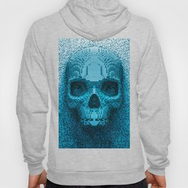 Pixel skull Hoody