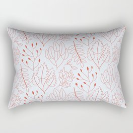 Plant leaf pattern Rectangular Pillow