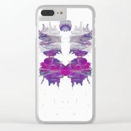 Inkdala LXXII-Part II Clear iPhone Case