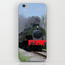 Lord Phil on the pull iPhone Skin