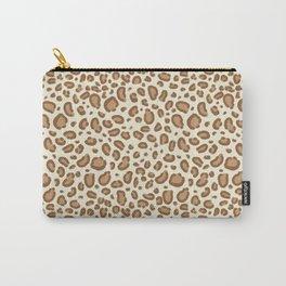 Leopard spots animal pattern print minimal basic home decor safari animals Carry-All Pouch