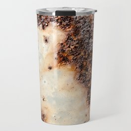Cool brown rusty metal texture Travel Mug
