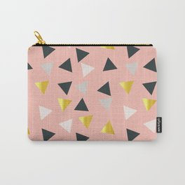 Gold triangles multi Carry-All Pouch