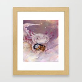 A good place Framed Art Print