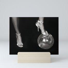 Disco Lies Mini Art Print