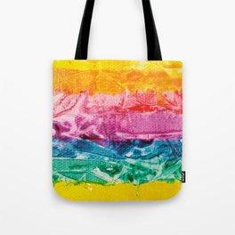 Rainbow Abstract #12 Tote Bag