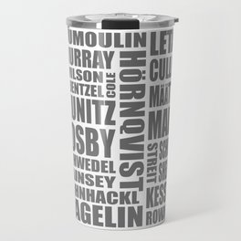 penguins 16-17 roster Travel Mug