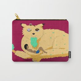 Geezer Cat Carry-All Pouch