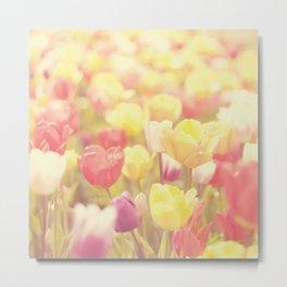 life isn't a tiptoe through the tulips ... Metal Print