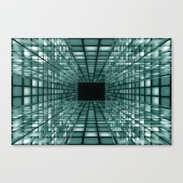 abstract perspective background Canvas Print