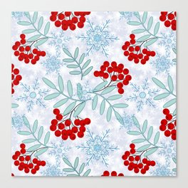 Christmas pattern.2 Canvas Print