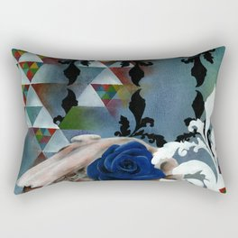 Rhosgobel Rabbit Rectangular Pillow
