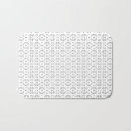 Geometric Minimal StarWars Pattern Bath Mat