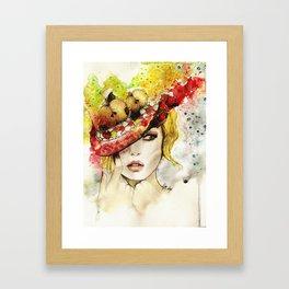 """Under my apple tree"" Framed Art Print"