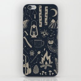 Into the Woods: Stargazing iPhone Skin
