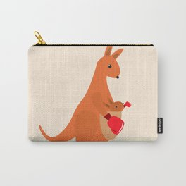 Boxing Kangaroos Carry-All Pouch