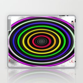 Sacred-Symmetry: Tunnel Of Love  Laptop & iPad Skin