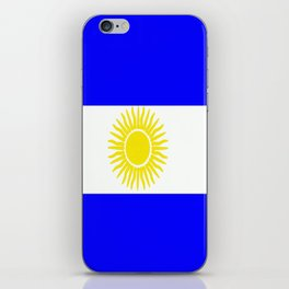 Flag of Argentina iPhone Skin
