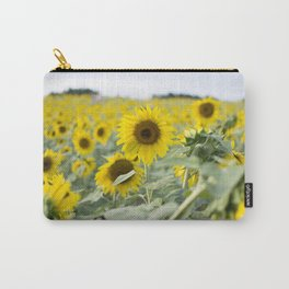 Field of Sunflowers Carry-All Pouch