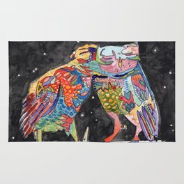 Magic Owl Lovers Rug
