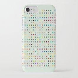 Geometric palette iPhone Case