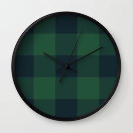 rainforest pattern Wall Clock