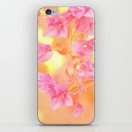 Sunny Bougainville 4 iPhone Skin