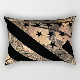 Hunting Camouflage Flag 3 Rectangular Pillow