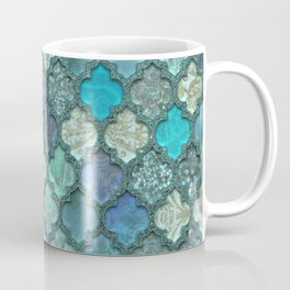 Moroccan Inspired Precious Tile Pattern Coffee Mug