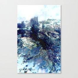 Winter Blossom Original Photography Canvas Print