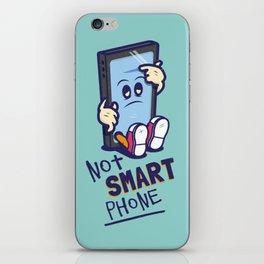Not Smart Phone. iPhone Skin