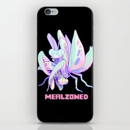 mealzoned iPhone Skin