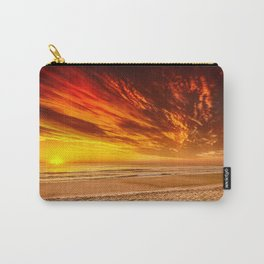 Sunrise over the Atlantic from the Outer Banks, North Carolina Carry-All Pouch